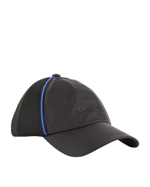 Armani Jeans   Blue Logo Cap for Men   Lyst