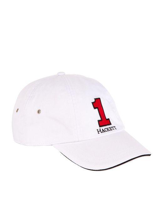 Hackett - White Number Baseball Cap for Men - Lyst