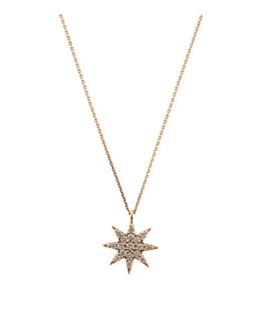 Bee Goddess - Metallic Ishtar Star Diamond Necklace - Lyst