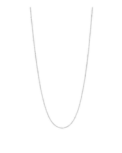 Links of London - Metallic Sterling Silver Essentials Chain (60cm) - Lyst