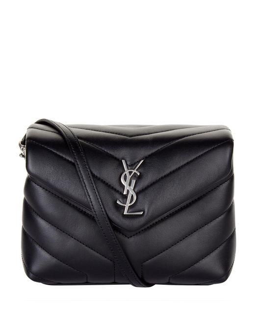Saint Laurent Black Monogram Matelass Cross Body Bag
