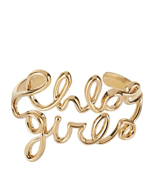 Chloé - Metallic Chlo Girls Bangle - Lyst