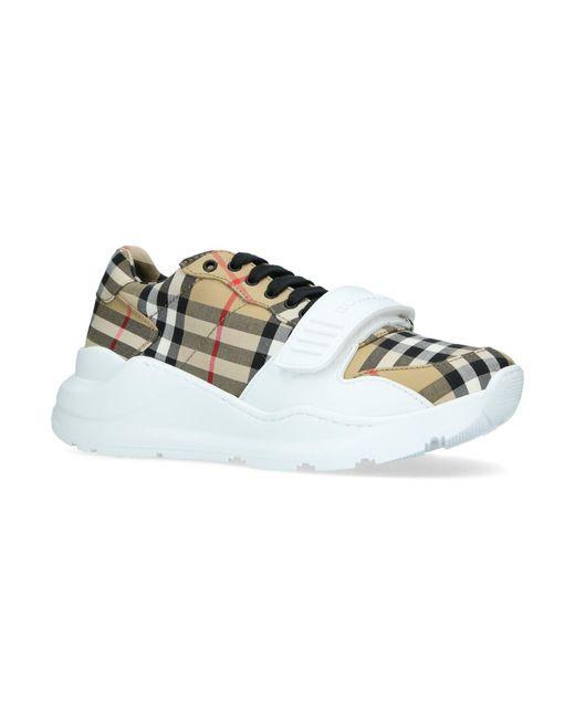 Burberry Vintage Check Cotton Sneaker