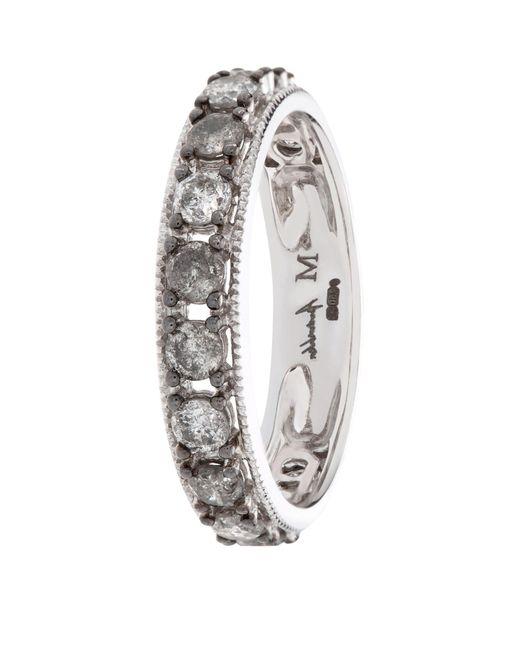 Annoushka Metallic Dusty Diamond Eternity Ring