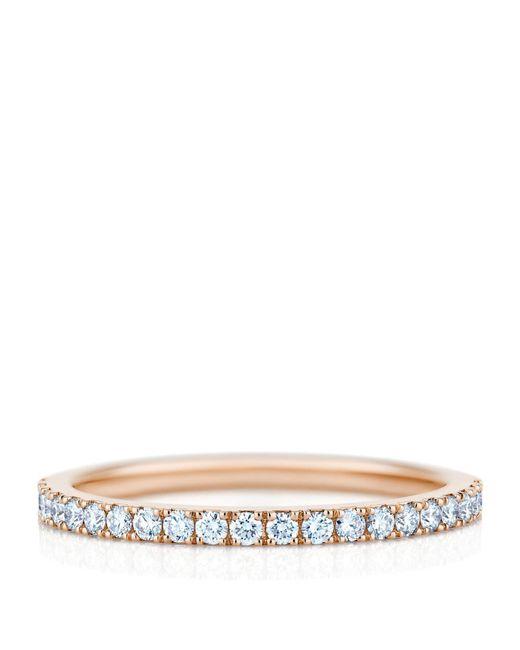 De Beers - Metallic Rose Gold And Diamond Aura Ring - Lyst