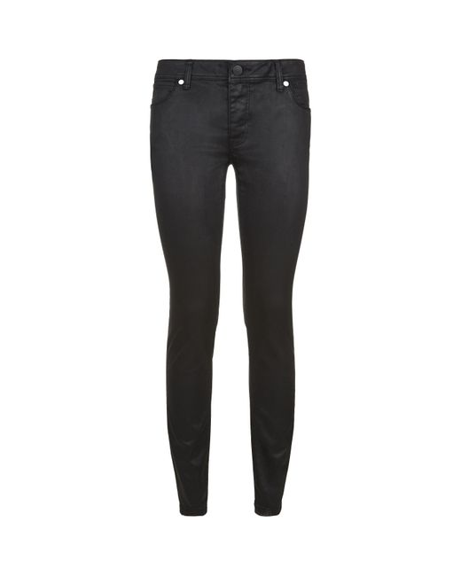 Burberry   Black Coated Skinny Jeans   Lyst