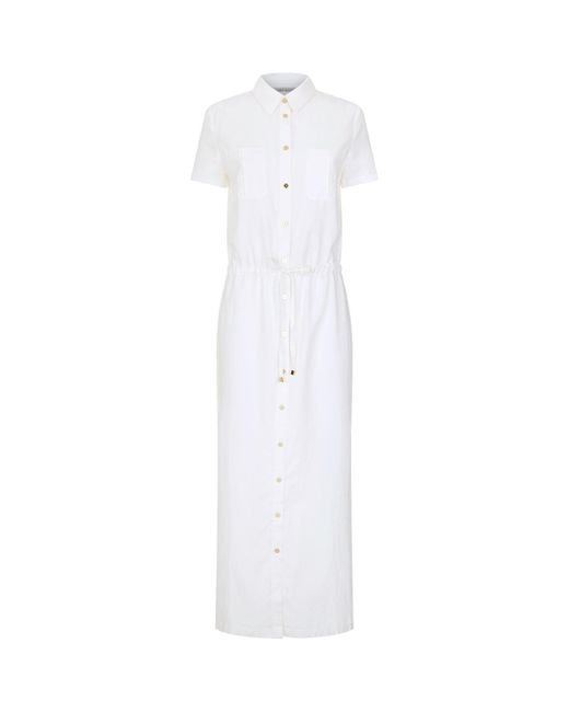 Heidi Klein - White Shirt Dress - Lyst