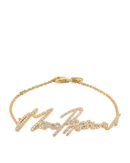 Stephen Webster   Metallic Yellow Gold And Pav Diamond More Passion Bracelet   Lyst