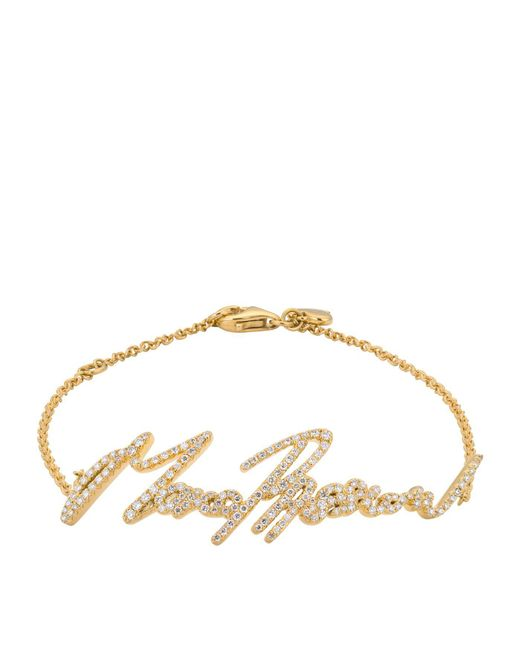 Stephen Webster - Metallic Yellow Gold And Pav Diamond More Passion Bracelet - Lyst