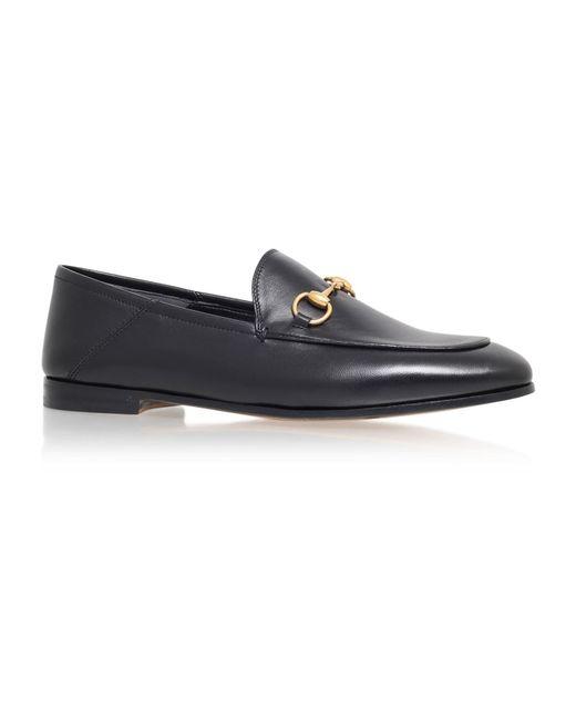 Gucci | Black Brixton Horsebit Loafer for Men | Lyst