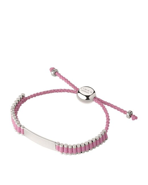 Links of London - Pink Id Friendship Bracelet - Lyst