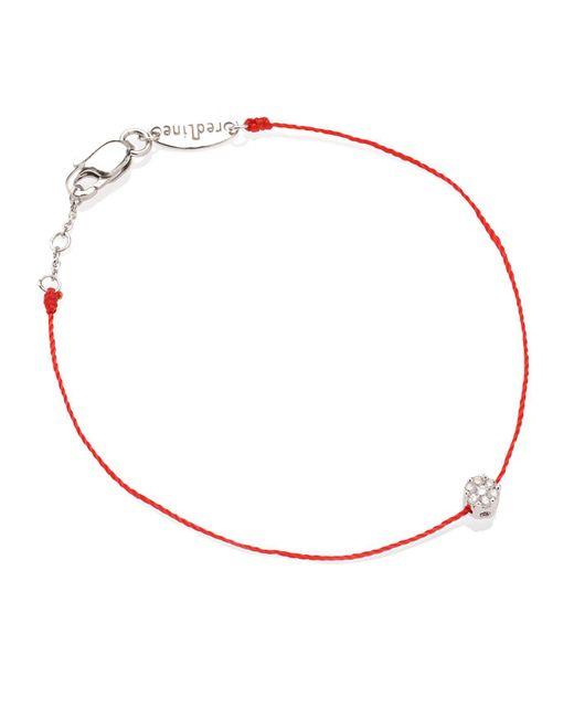 RedLine - Red Diamond Illusion Bracelet - Lyst