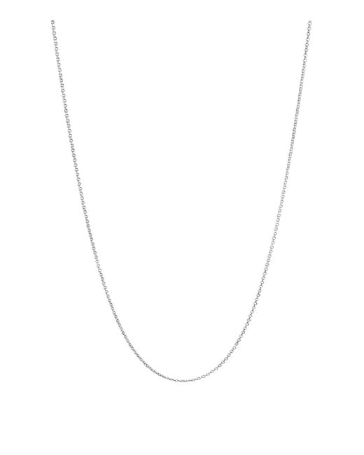 Links of London - Metallic Sterling Silver Essentials Necklace Chain (45cm) - Lyst