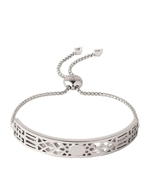 Links of London | Metallic Timeless Engraved Bracelet | Lyst