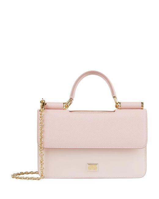Dolce & Gabbana Pink Von Cross Body Bag