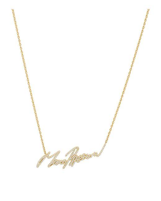 Stephen Webster - Metallic Yellow Gold And Pav Diamond More Passion Pendant - Lyst