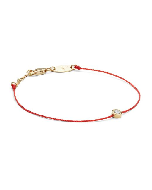 RedLine   Red Pure Bracelet   Lyst