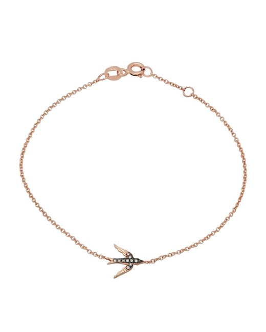 Kenza Lee | Metallic Swallow Bracelet | Lyst