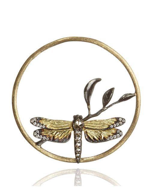 Annoushka | Metallic Hoopla Dragonfly Diamond Pendant | Lyst
