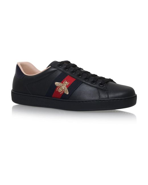 Lyst Gucci New Ace Bee Trainers In Black For Men Save 10