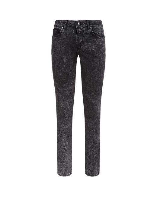 Claudie Pierlot | Black Acid Wash Jeans | Lyst