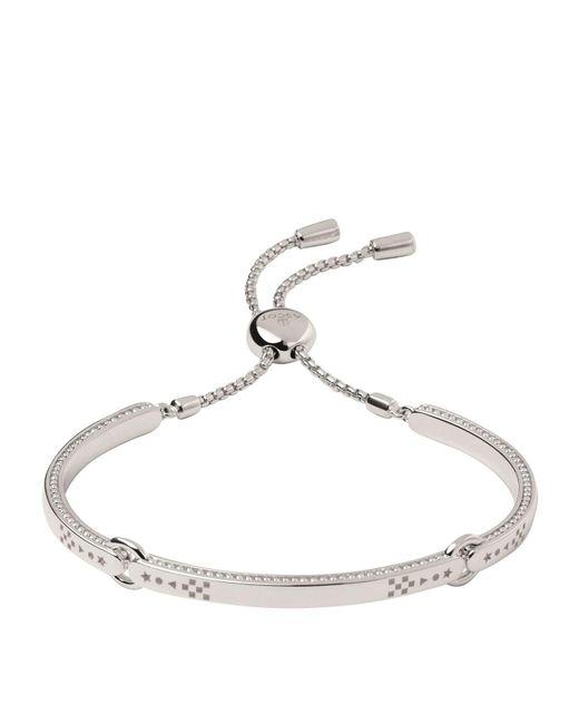 Links of London - Metallic Ascot Narrative Bracelet - Lyst