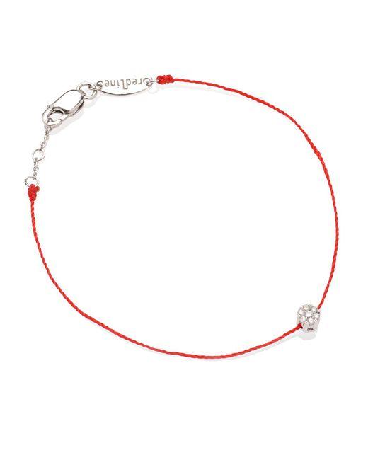 RedLine Red Diamond Illusion Bracelet