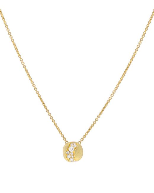 Marco Bicego - White Africa Wave Pendant Necklace - Lyst
