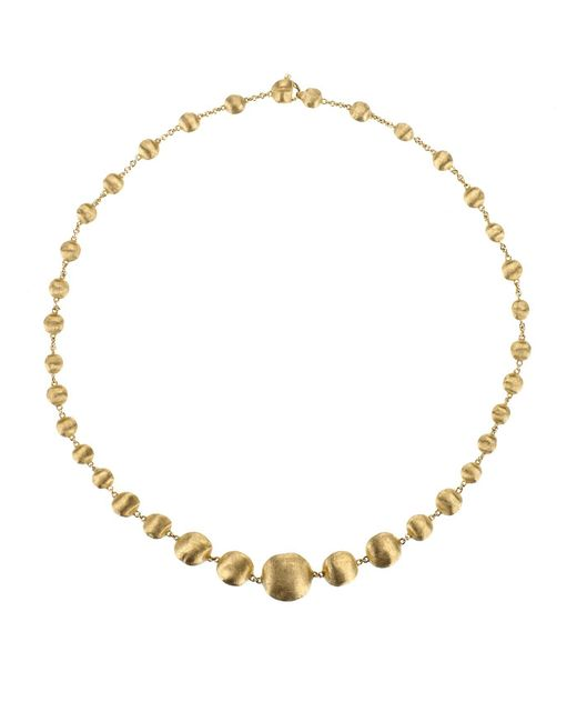 Marco Bicego - Yellow Africa Necklace - Lyst