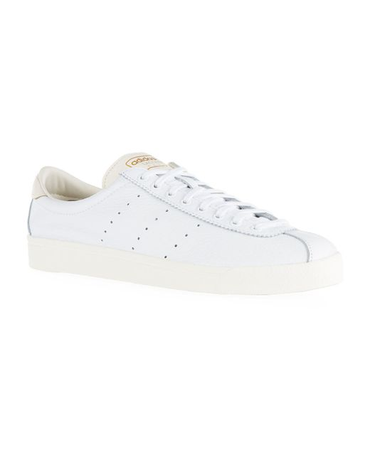 Adidas Originals - White Leather Lacombe Spezial Sneakers for Men - Lyst