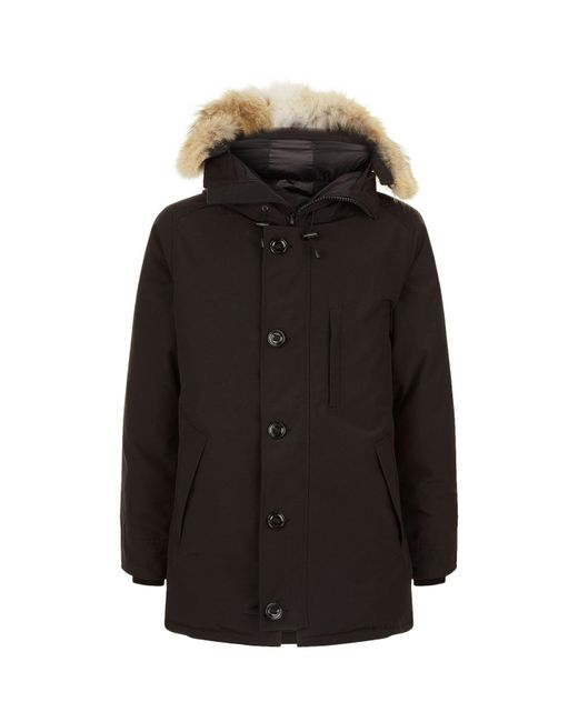 Canada Goose - Black Chateau Down Parka for Men - Lyst