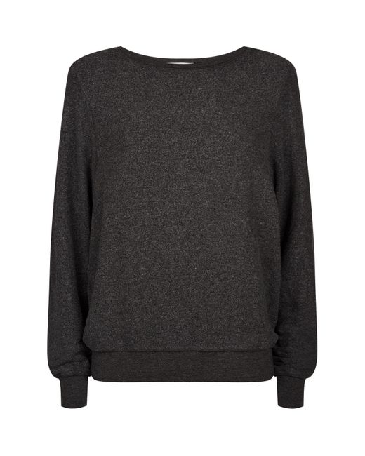 Wildfox Black Relaxed Fit Sweater