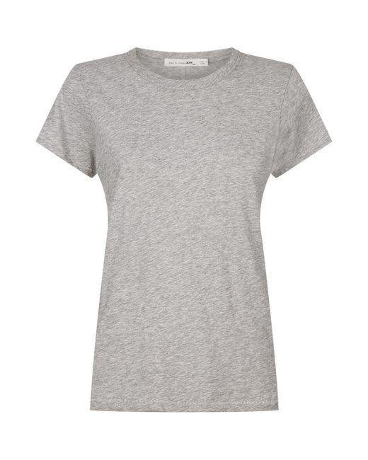 Rag & Bone - Gray The Tee Round Neck T-shirt - Lyst