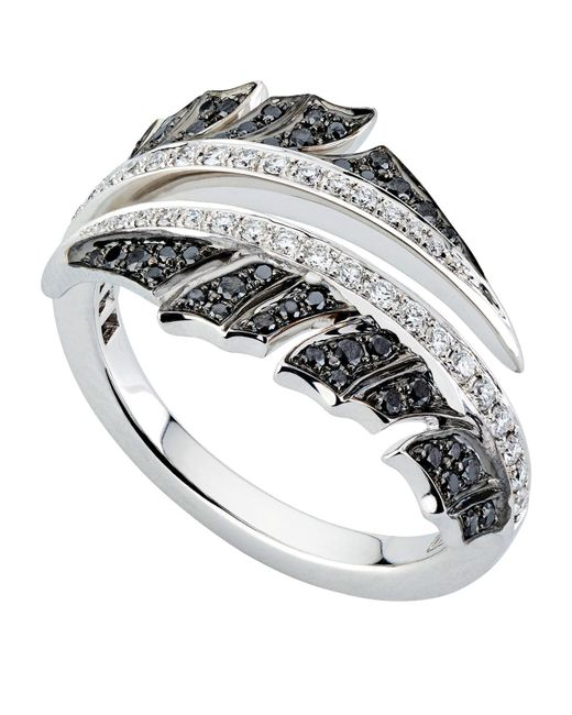 Stephen Webster - Metallic White Gold Magnipheasant Pav Diamond Split Ring - Lyst