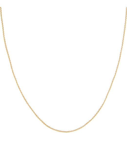 Monica Vinader - Metallic Gold Plated Rolo Chain - Lyst