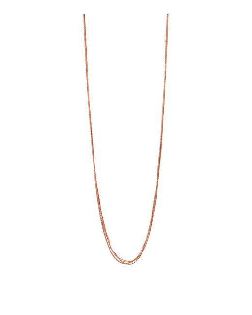 Links of London - Metallic Silk 5 Row Necklace - Lyst