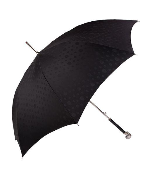 Alexander McQueen Black Swarovski-embellished Skull Umbrella