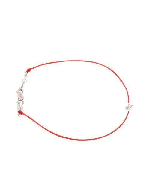 RedLine - White Shiny String Bracelet - Lyst