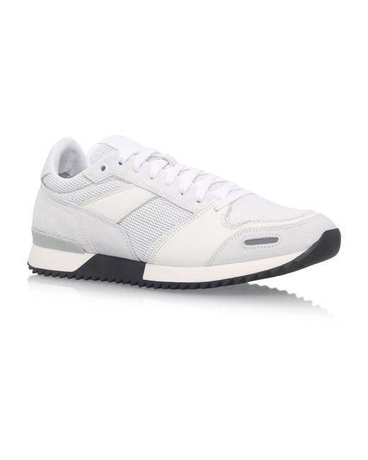 AMI | White Heel Logo Runner Trainers for Men | Lyst