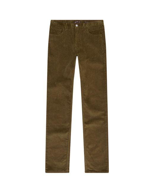 Michael Kors - Green Corduroy Parker Trousers for Men - Lyst
