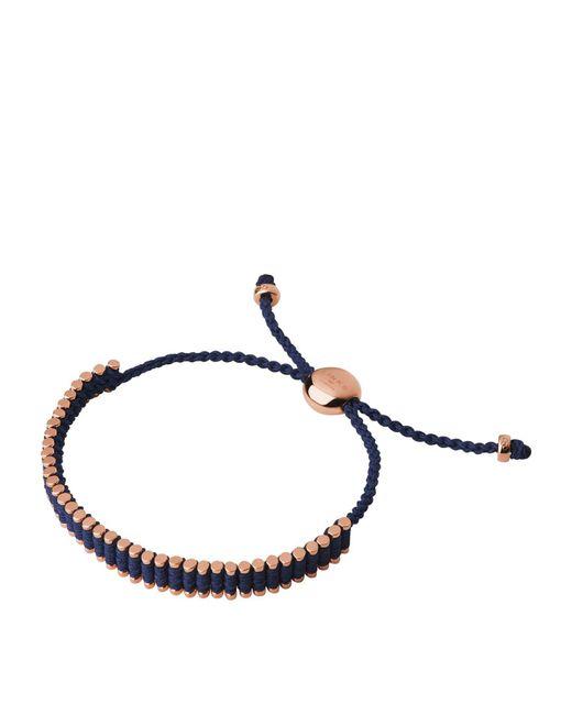 Links of London - Blue Mini Friendship Bracelet - Lyst