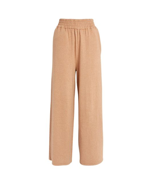 Camilla & Marc Natural Lago Knit Trousers
