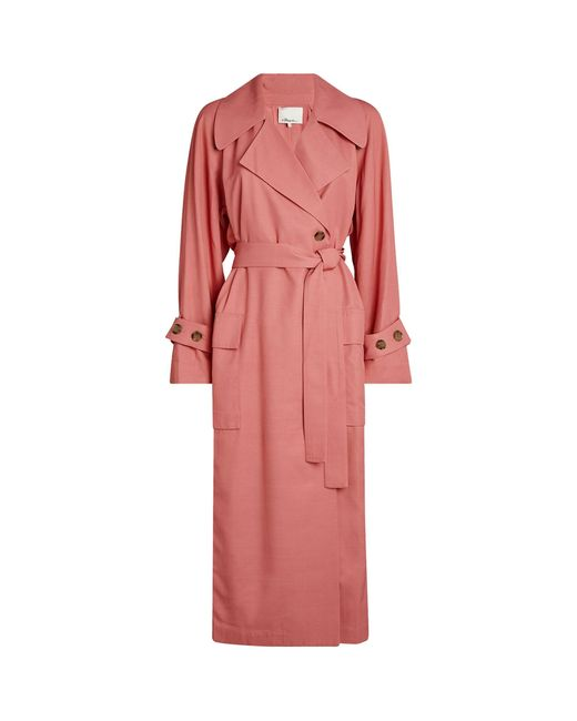 3.1 Phillip Lim Pink Belted Trench Coat