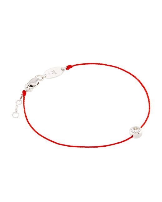 RedLine Red So Pure Diamond Bracelet
