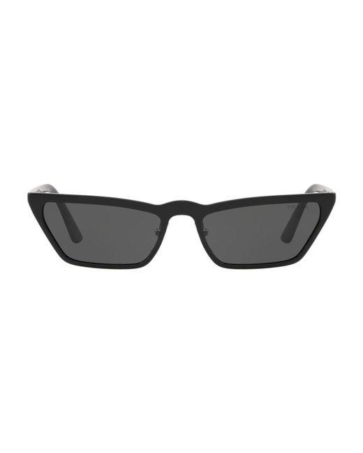 Prada - Black Ultravox Cat Eye Sunglasses - Lyst
