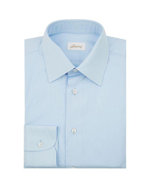 Brioni - Blue Formal Shirt for Men - Lyst