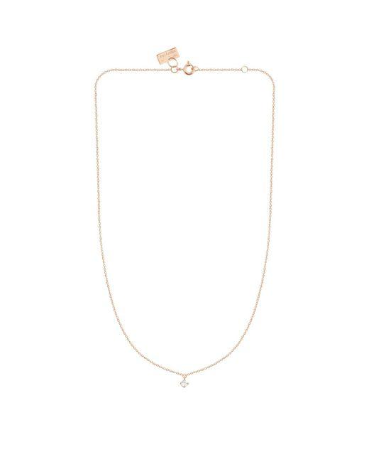 Vanrycke - White Rose Gold Diamond Pendent Necklace - Lyst