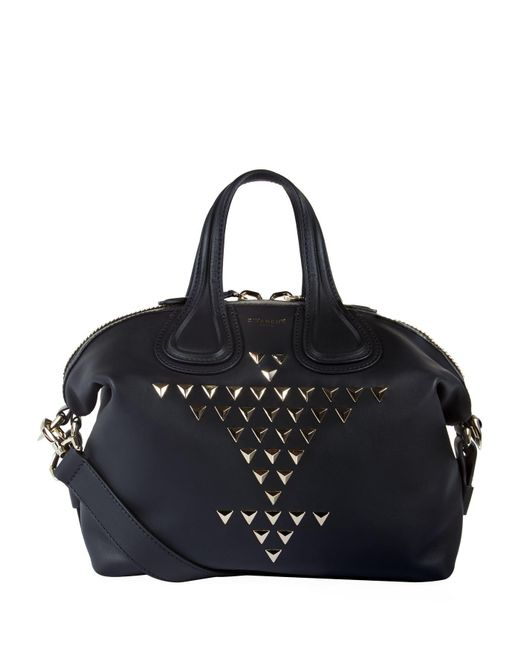 Givenchy | Black Small Nightingale Embellished Tote | Lyst