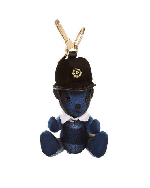 Burberry | Blue The Bobby Thomas Bear Charm | Lyst
