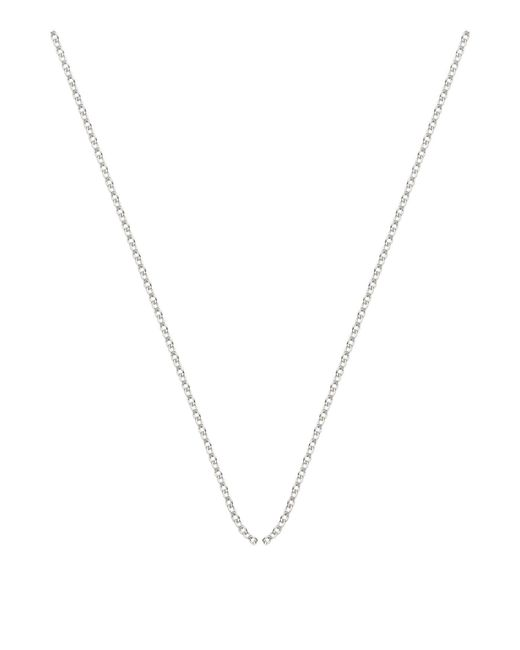 Monica Vinader - Metallic Adjustable Rolo Chain (32) - Lyst